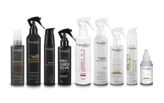 Finalizadores Acquaflora: conheça e saiba escolher o ideal para seus cabelos