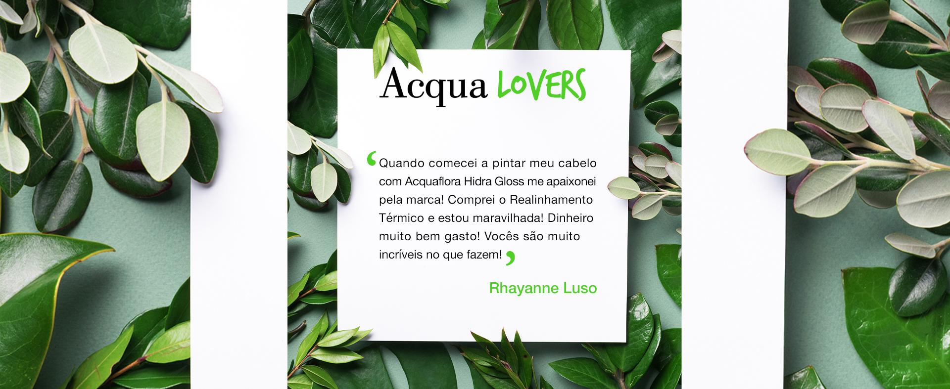 Banner Home - Acqua